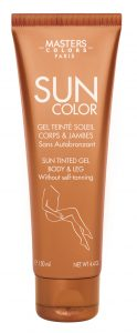 sun color leg gel